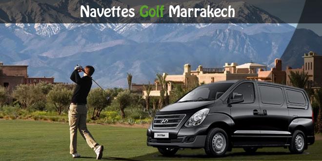 Navettes Golf Marrakech