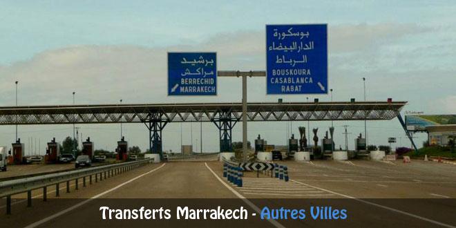 Transferts depuis Marrakech